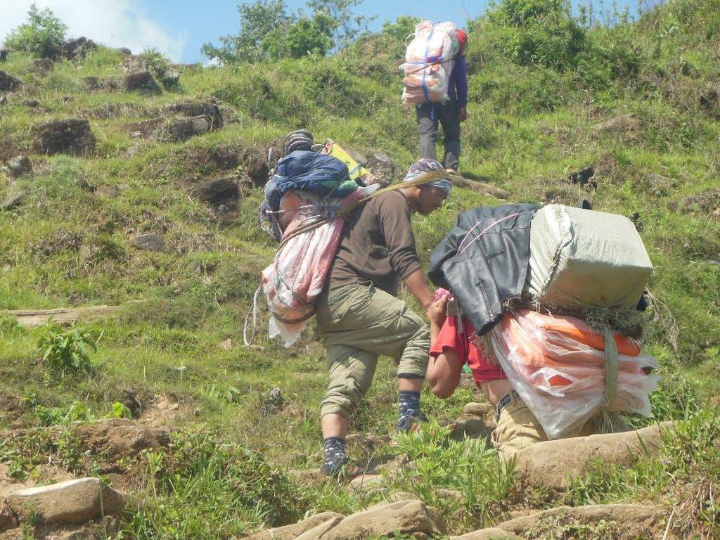 Earthquake shocks Nepal
