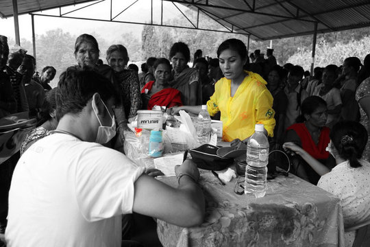 MAP Medicines being used in Nepal Relief