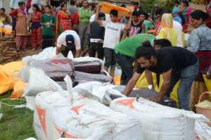 distribution area in Changunarayan