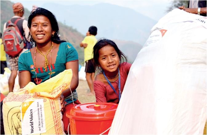 World Vision Nepal Earthquake Response