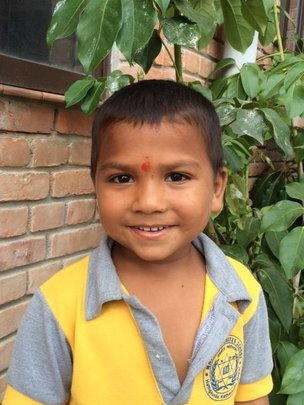 Jeevan, age 4 - the newest member of our family