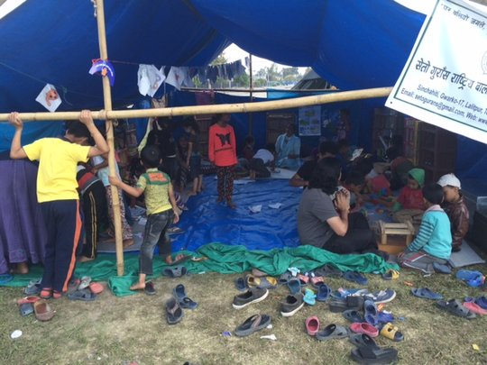 Child Safe tent in Tundhikel