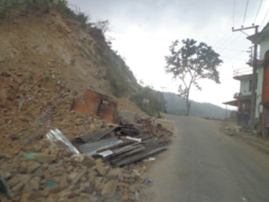 Landslides on the way