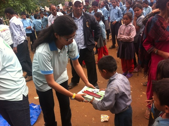 Stationery materials distribution
