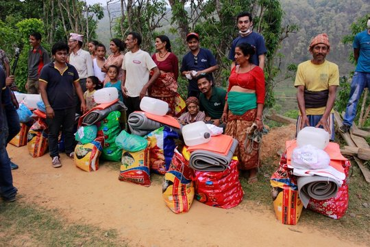 Emergency Relief for Nepal Earthquake