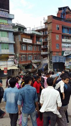 Earthquake Nepal photo