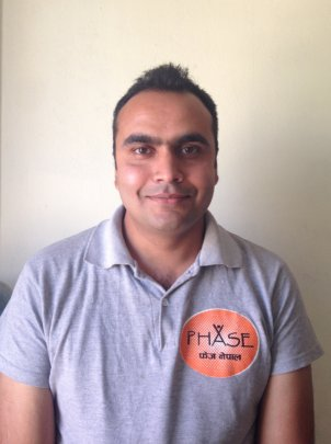 Bikash, Project Manager at PHASE Nepal