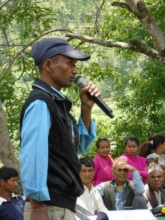 Ram Bahadur Thapa, principal of Seti Devi School