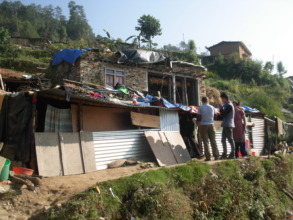 Looking at the accommodation of PHASE Nepal staff