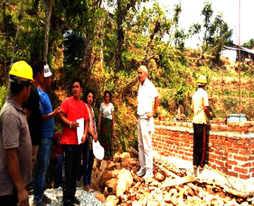 Monitoring visit by PHASE's Senior Management