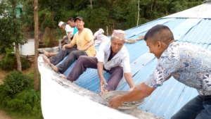 Repairing HHC's community hospital in Ilam