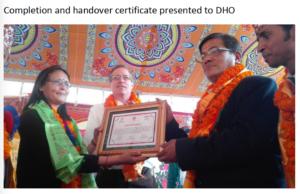Handover Ceremony for Chhatredeurali Health Post