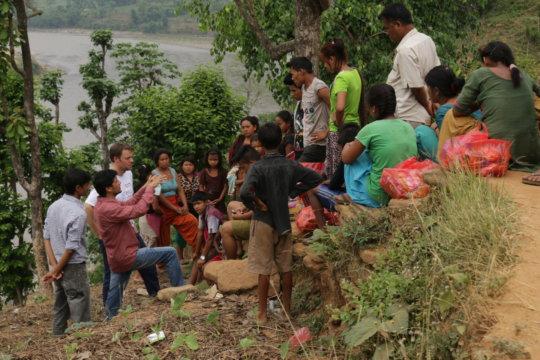 Provide Helpdesks for Nepal Earthquake Survivors