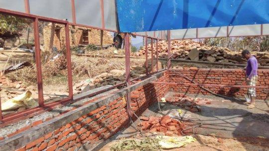 Construction of School