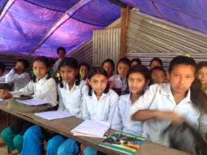 Children Learning in Temporary