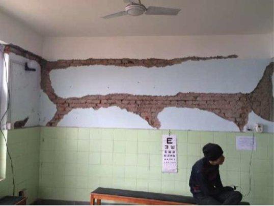 Damage to Dolakha Community Eye Center