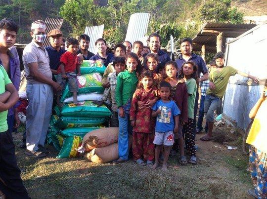 Distributing more food