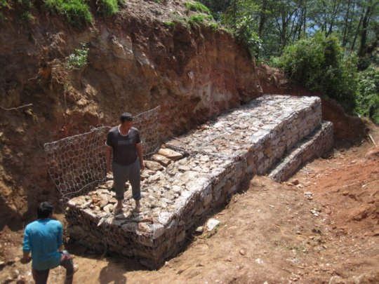 Landslide Wall