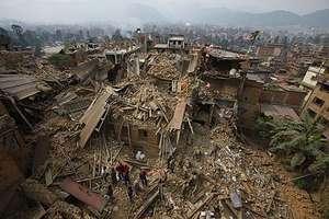 Scene from Kathmandu