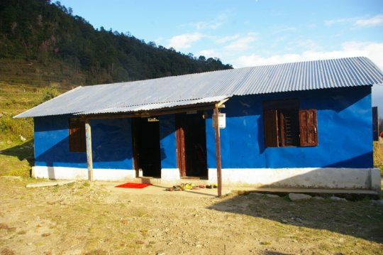 New classrooms - sturdy and safe