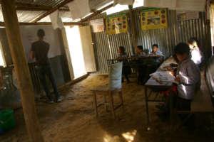 Jankalyan School Grade 4 students in their TLC