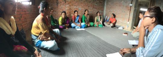 FCHVs meet in Shyampati.