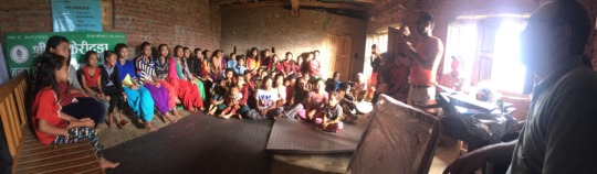 One of the first ELA clubs in Nepal.