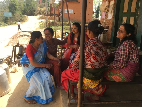 Kalika promotes maternal health in the community