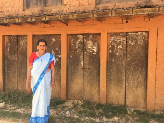 Kalika, a community health worker in Nepal