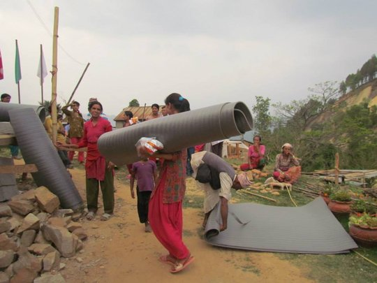 Deliver Aid to Earthquake Survivors in Nepal