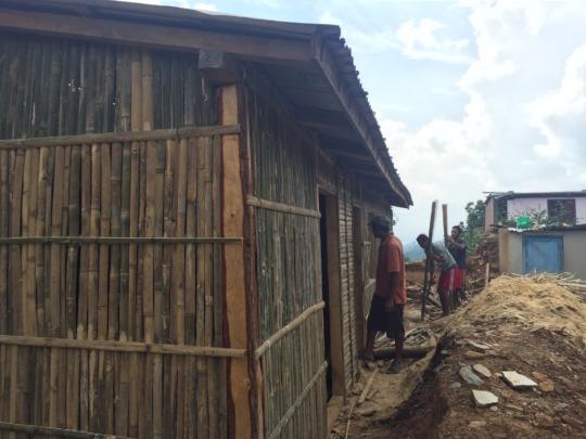 Jalkini Health Post under construction