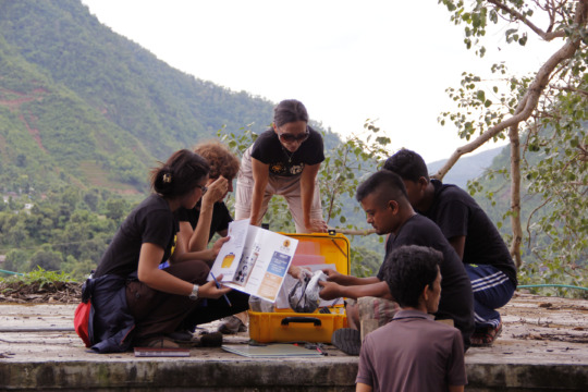 Installing of Solar Suitcase