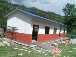 Newly constructed Maternity Waiting Home