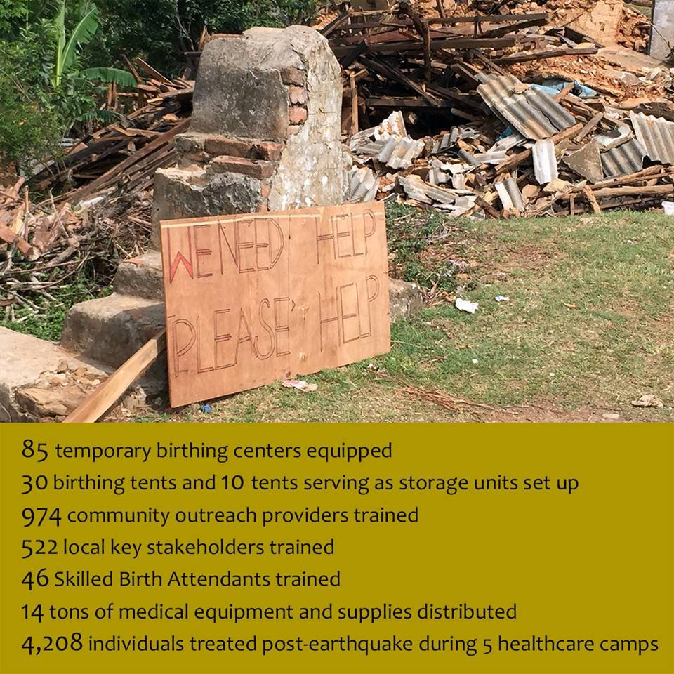 Re-establish a Healthcare Infrastructure in Nepal