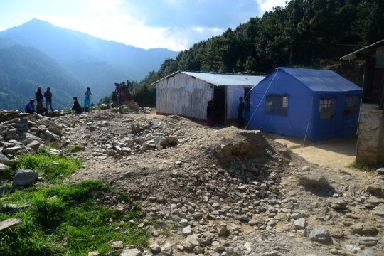 Ramailo Jyoti school in Salleri, Nepal