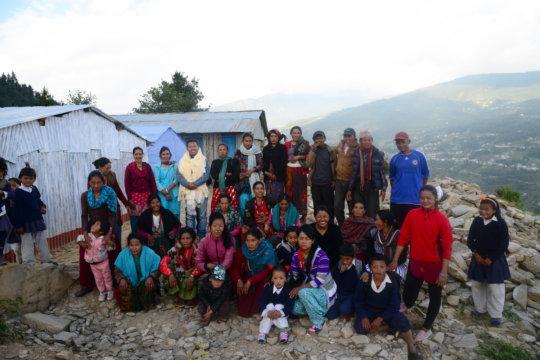 The Ramailo Jyoti school (Salleri) community