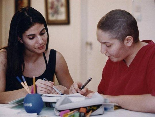 Tutoring Young Cancer Patients