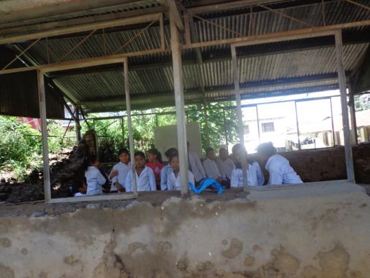 A  scene of Kalyan higher secondary School.