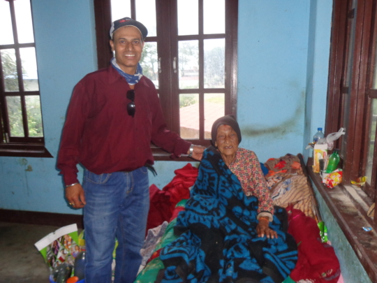 Chairman with 92 years old Elder