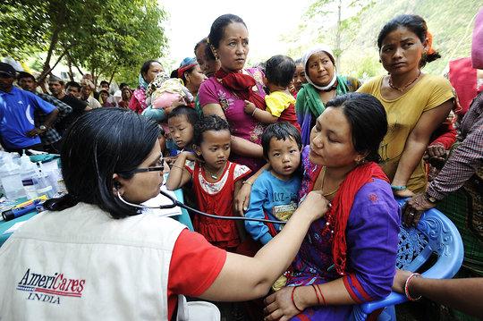 Rapid Response to Nepal's Health Needs