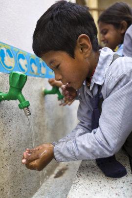 You helped get clean water to Kathmandu