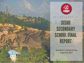 Final Report w/ financials - Sishu Primary School (PDF)