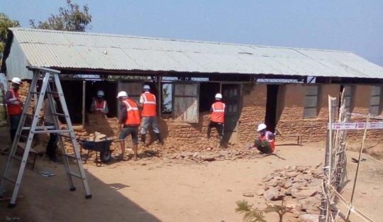 Safe Demolition of the Bal Lahari school