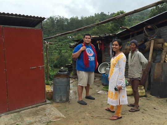 Piloting latrine implementation