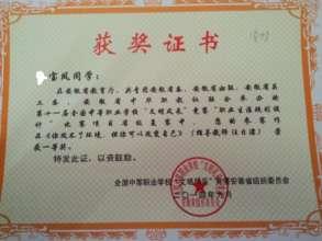 Baofeng's high school essay award