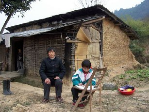 Keep poor kids educated  in school in China