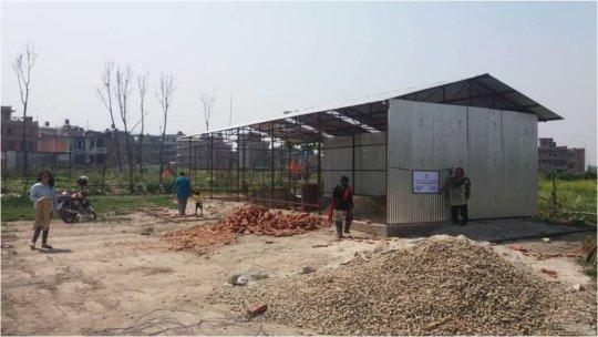 Community Center Under Construction