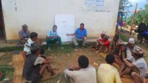 A briefing for shelter project masons