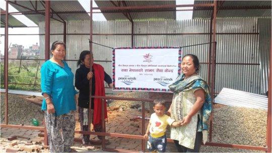 The Bhaktapur Community Center In Progress