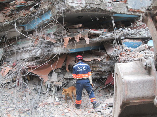 Search and Rescue in Kathmandu